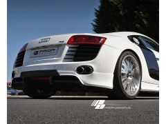 Prior Design rear add on diffuser for all Audi R8 models