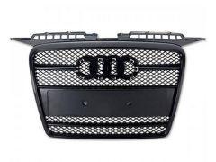 Prior design black front bumper grille for Audi TT