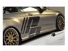 Prior Design aerodynamic side skirts