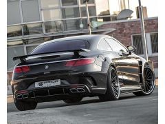 S Class Coupe Prior design PD75SC boot spoiler