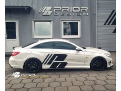 PD550 Black Edition Side Skirts