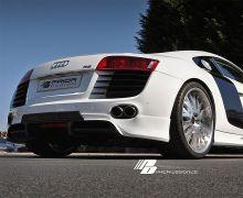 Prior Design rear add on diffuser for all Audi R8 models