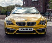 E63, E64 Prior design M4 look front bumper
