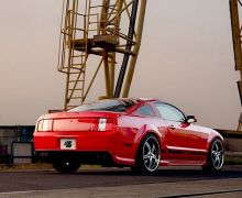 Prior Design PD1 rear bumper for the Ford Mustang
