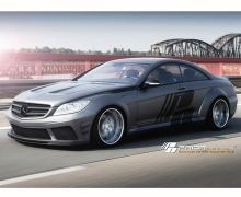 Prior Design Black edition widebody aerodynamic package Version 2