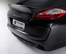 Prior600 aerodynamic rear spoiler