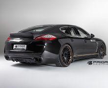 Prior600 aerodynamic rear bumper