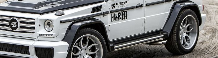 P650D Widebody Rear Widenings for G Class