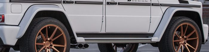 PD Widebody Front Widenings for G Class